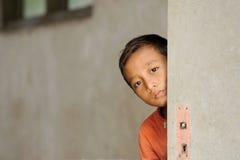 儿童贫穷 免版税图库摄影
