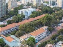 儿童医院,胡志明市 免版税库存照片
