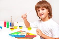 儿童绘画 图库摄影