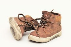 儿童` s鞋子 免版税图库摄影