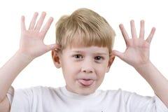 儿童headshot 免版税库存图片