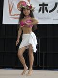 儿童Hula舞蹈演员 免版税图库摄影