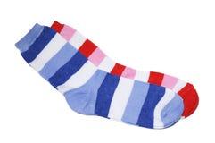 儿童s袜子 免版税库存图片