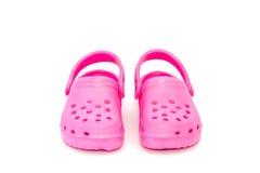 儿童s鞋子 免版税库存照片