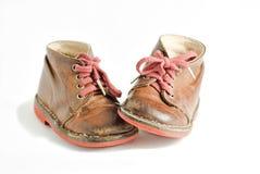 儿童s鞋子 图库摄影
