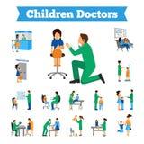 儿童Set医生的 免版税库存照片