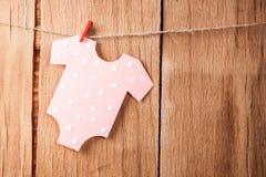 婴儿送礼会的装饰 库存照片