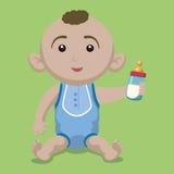 婴儿送礼会设计 免版税库存图片