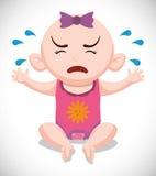 婴儿送礼会设计 免版税图库摄影