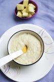 婴儿食品鲜美健康每日快餐吃 免版税库存图片