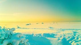 兄弟东部更横向晃动俄国海运二冬天 免版税库存照片