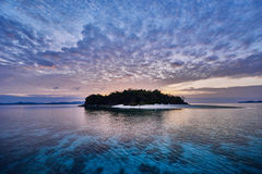 兄弟荒岛El Nido巴拉望岛菲律宾 库存图片