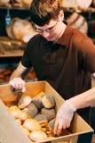 充分产谷物区小圆面包 免版税图库摄影