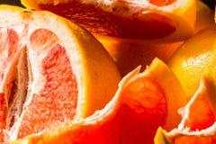 充分水多的果子柚,健康和自然快餐维生素 库存图片