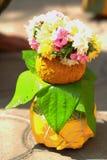 充分特写镜头印地安婚礼文化和传统 免版税库存照片