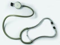充分的听诊器,在白色隔绝的完全 免版税图库摄影