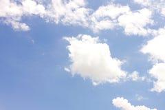 充分的天空。 库存照片