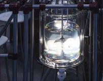 充分的管在实验室 免版税库存照片