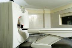 充分的身体CT扫描器在医院 免版税库存照片
