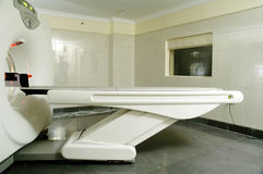 充分的身体CT扫描器在医院 免版税库存图片