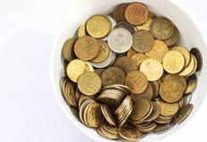 充分的货币 库存图片