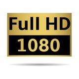 充分的HD 免版税库存图片