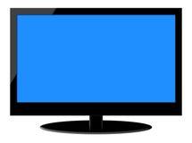 充分的HD LCD电视 免版税库存照片