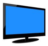 充分的HD LCD电视 库存照片