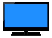 充分的HD LCD电视 免版税库存图片