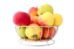 充分2个苹果篮子 免版税库存照片