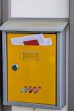 充分Letterbox邮件 免版税库存图片