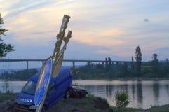 充斥在瓦尔纳,保加利亚6月19日 库存图片