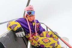 充满活力的冬天时尚 免版税库存图片