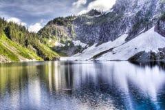 充满活力的湖 库存照片