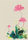 充满活力背景五颜六色的花卉的树荫 库存照片