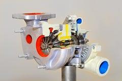 充电器涡轮 免版税库存照片