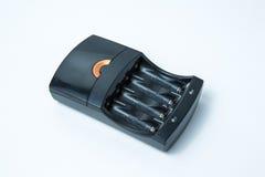 充电器电池 免版税库存照片