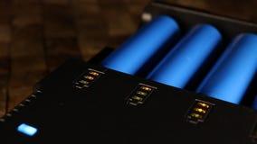充电的可再充电电池 影视素材