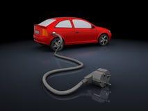 充电的汽车 免版税库存图片