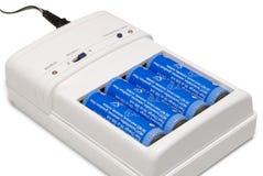 充电的电池 免版税库存图片