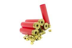 充电的空的弹药 免版税库存图片