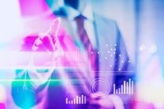 充满活力的企业概念接口例证 向量例证