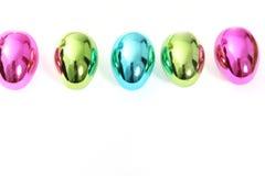 充满活力的发光的复活节彩蛋线  免版税库存图片