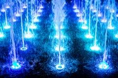 充满活力的喷泉 免版税库存照片