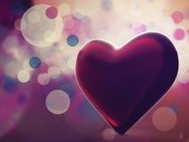 充满爱在我的心脏。 皇族释放例证