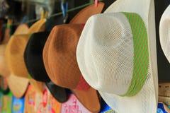 充满的帽子 免版税库存照片