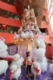 兆箱子圣诞节装饰 库存照片