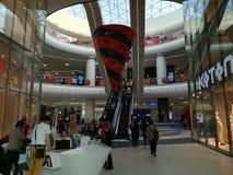兆购物中心在布加勒斯特 免版税库存图片