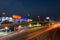 兆Bangna是一个大商城在曼谷 库存照片