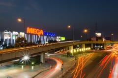 兆Bangna是一个大商城在曼谷 免版税图库摄影